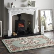 Shensi Green Traditional Wool Rug by Origins