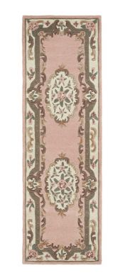 Shensi Pink Traditional Runner by Origins