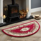 Shensi Wine Traditional Halfmoon Rug by Origins
