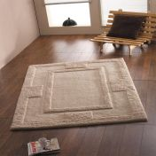 Sierra Apollo Beige Plain Wool Rug By Flair Rugs