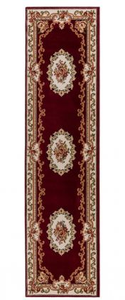 Sincerity Royale Dynasty Red Traditional Runner by Flair Rugs