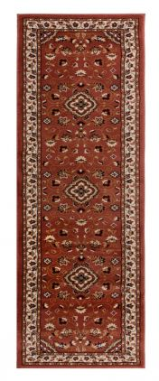 Sincerity Royale Sherborne Rose Pink Traditional Runner by Flair Rugs