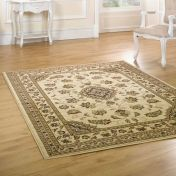 Sincerity Royale Sherborne Beige Traditional Rug By Flair Rugs