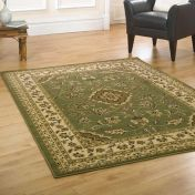 Sincerity Royale Sherborne Green Traditional Rug by Flair Rugs