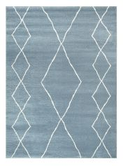 Skald 49007/8262 Blue Moroccan Rug by Mastercraft