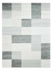Skald 49008/6262 Grey Block Rug by Mastercraft