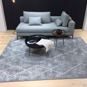 Skald 49007/4262 Grey Modern Rug by Mastercraft