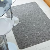 Skyline Pinnacle Charcoal Modern Rug by Flair Rugs