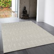 Sloan Silver Geometric Runner by Asiatic