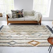 Solitaire Beau Multi Geometric Luxmi Rug by Flair Rugs