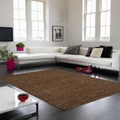 Soumak Jute Brown Plain Rug By Asiatic