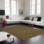 Soumak Jute Green Plain Rug By Asiatic