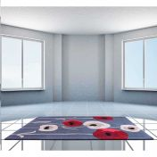 Sovereign Grey Floral Rugs By Ultimate Rug