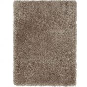 Spiral Caramel Shaggy Rug by Asiatic