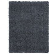 Spiral Charcoal Shaggy Rug by Asiatic