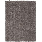 Spiral Grey Shaggy Rug by Asiatic