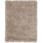 Spiral Sand Shaggy Rug By Asiatic
