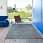 Strata 015 0002 4272 Blue Abstract Rug by Mastercraft