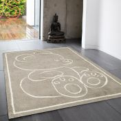 Teddy Bear Beige Rect Rug By Asiatic
