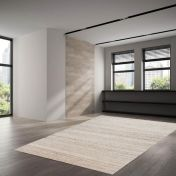 UNI-990 Royal Berber Melange Natural Wool Rug by Theko