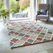 Trellis Pastels Wool Rug by Origins