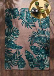 Tropical Blush Wool Rug by Origins