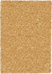 Twilight 039 0001 2288 Pale Gold Shaggy Rug by Mastercraft