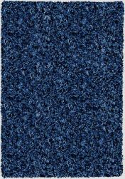 Twilight 039 0001 3311 Cobalt Blue Shaggy Rug by Mastercraft