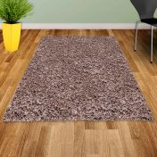 Twilight 039 0001 7676 Mink Shaggy Rug by Mastercraft