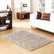 Indulgence Latte Plain Shaggy Rug By Ultimate Rug