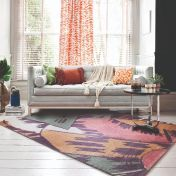 V&A Omega Multi Wool Luxmi Rug by Flair Rugs