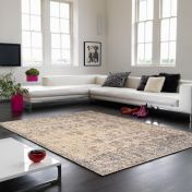 Verve VE08 Chocolate Floral Rug By Asiatic