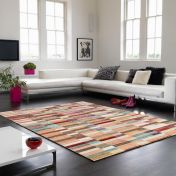 Verve VE01 Multi Abstract Rug By Asiatic