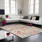 Verve VE02 Multi Geometric Rug By Asiatic