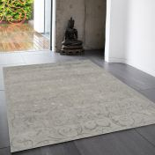 Victoria Silver Rug By Asiatic