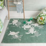 Villa Nova Tiny Turtles RG8805 Kids Rug by Louis De Poortere