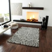 Valentine VL-10 Light Grey Wool Rug y Think Rugs