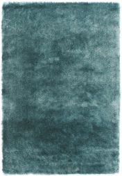 Whisper Aqua Super Soft Shaggy Rug By Asiatic