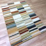 Woodstock 032 0303 6372 Multi Abstract Rug By Mastercraft