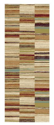 Woodstock 032 0303 6372 Multi Abstract Runner By Mastercraft