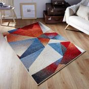 Zante 361 X Multi Abstract Rug By Oriental Weavers