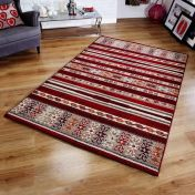 Zante 5501 R Red Rug By Oriental Weavers