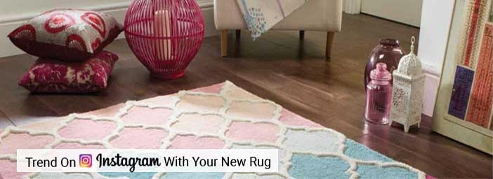 Trend On Instagram With Your New Rug
